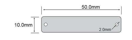 PCB抗金属超高频电子标签 RT-5010